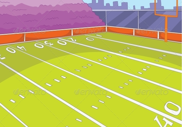 American Football Stadium - Sports/Activity Conceptual