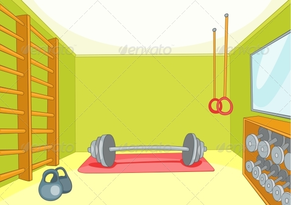 Gym Room - Sports/Activity Conceptual