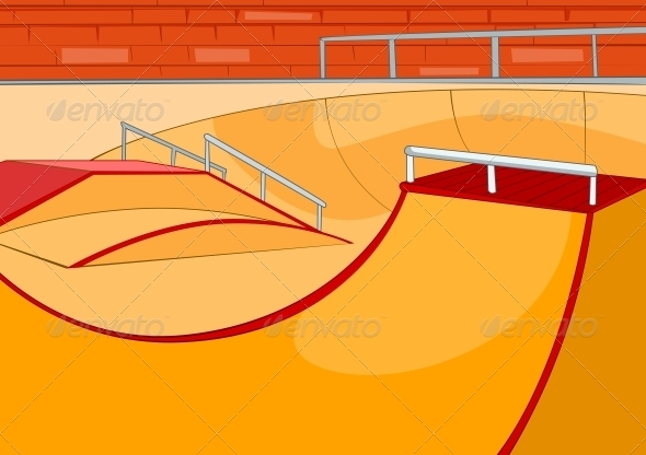 Skate Ramp - Sports/Activity Conceptual