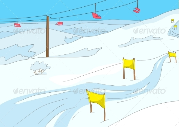 Ski Resort - Sports/Activity Conceptual