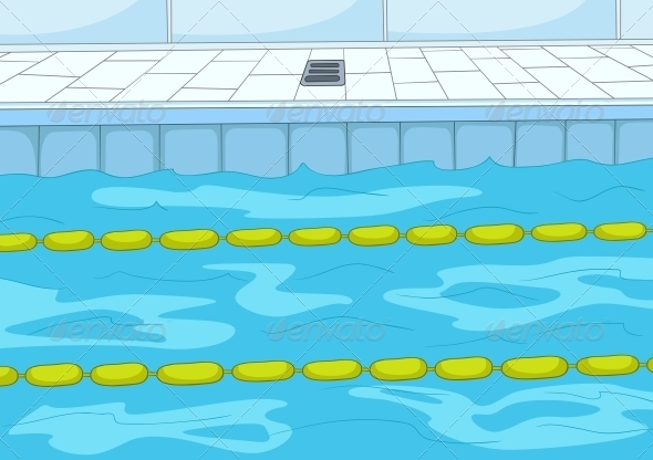 Swimming Pool - Sports/Activity Conceptual