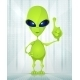 Cute Alien - GraphicRiver Item for Sale