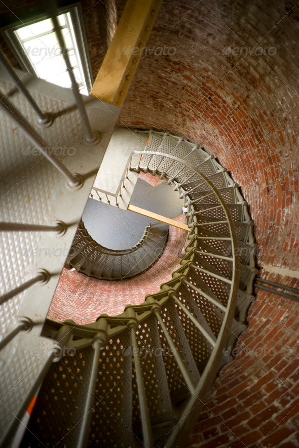 Spiral Staircase - Stock Photo - Images