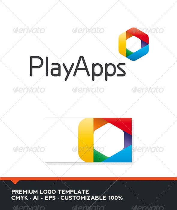 Play Apps Logo Template - Abstract Logo Templates