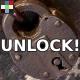 Old Metal Lock