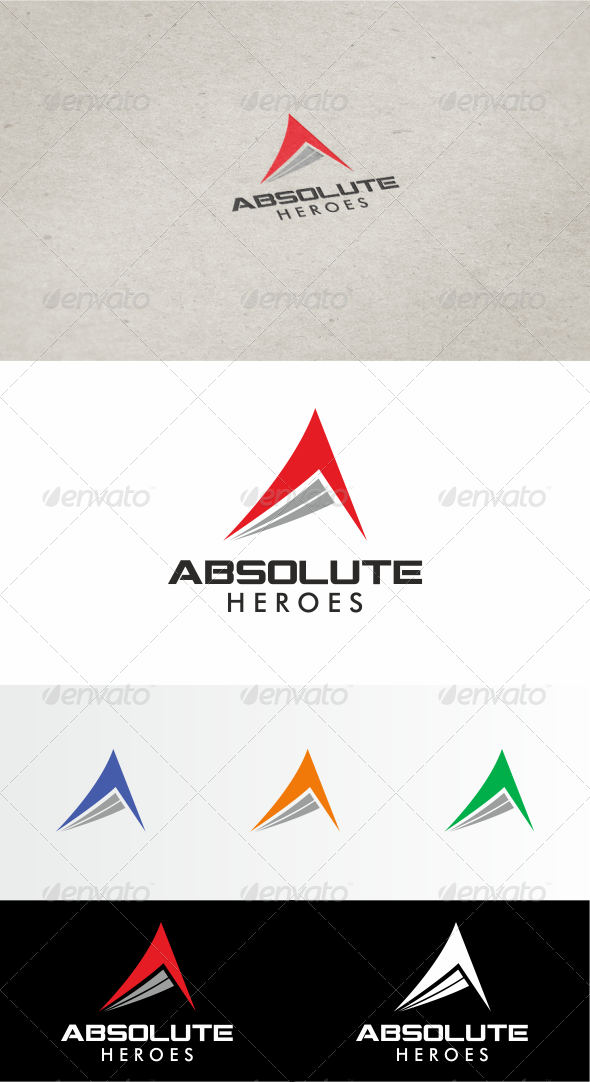 Absolut Heroes Logo - Symbols Logo Templates