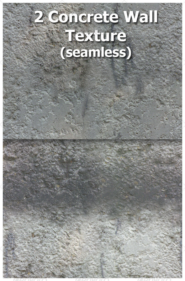 Concrete Wall Texture  (Seamless) - Concrete Textures