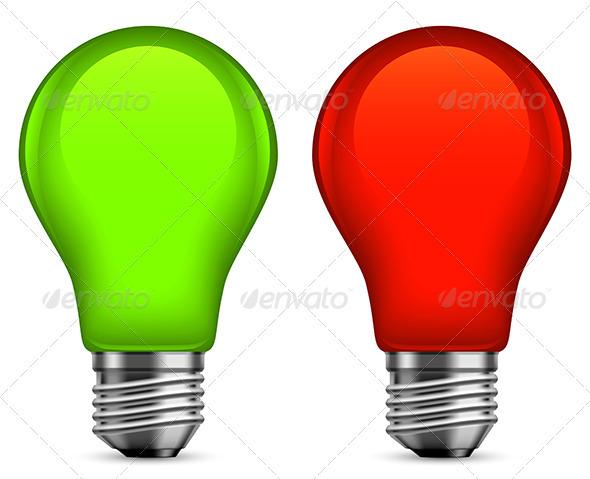 Light Bulbs - Man-made Objects Objects