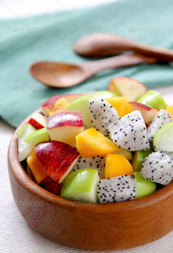 Fruits salad  - Stock Photo - Images