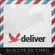 Deliver Business Card - GraphicRiver Item for Sale