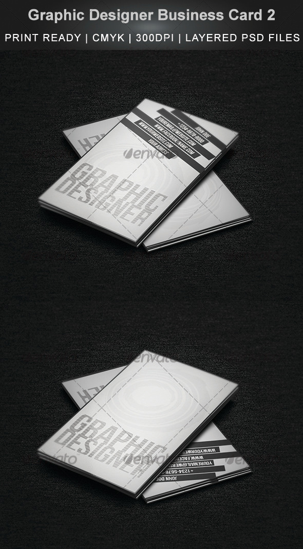 Graphic Designer Business Card 2 - Creative Business Cards