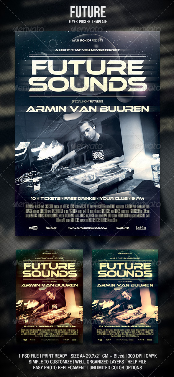 Future Flyer / Poster - Events Flyers