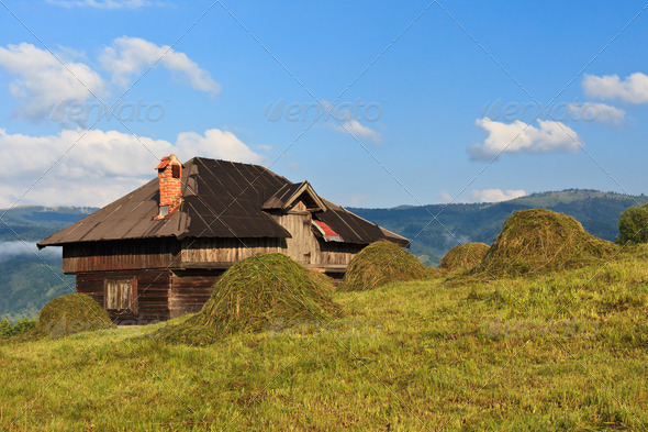 rustic house - Stock Photo - Images