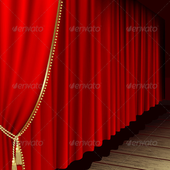 Theater Stage  - Backgrounds Decorative