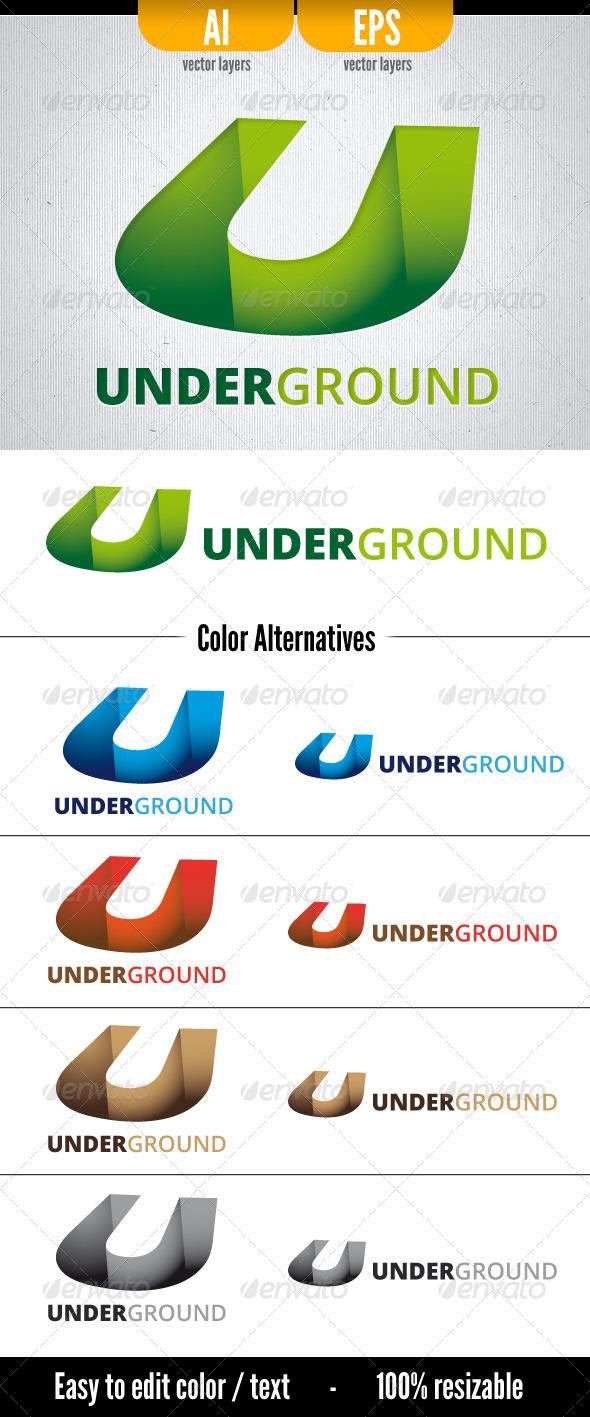 Underground - Letters Logo Templates