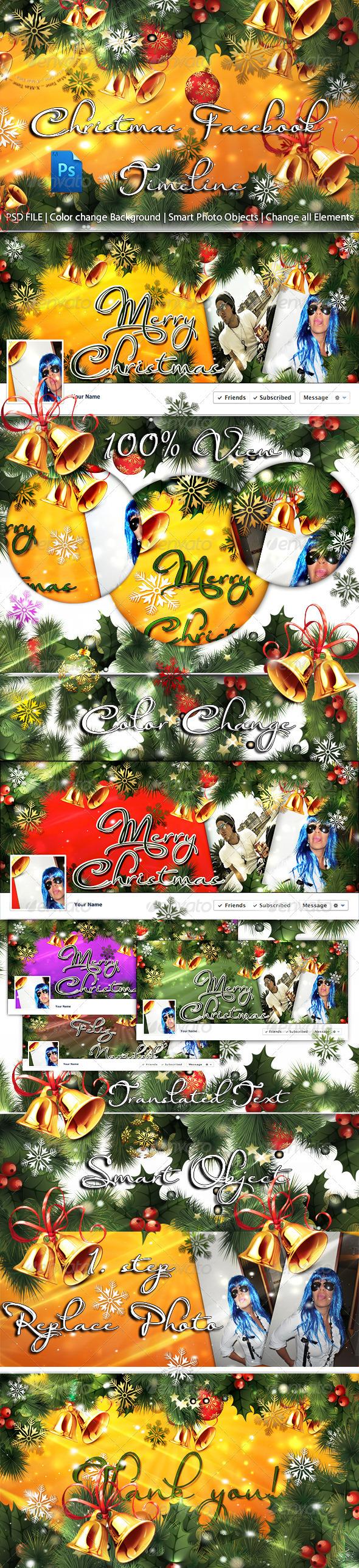 Christmas FB Timeline - Facebook Timeline Covers Social Media