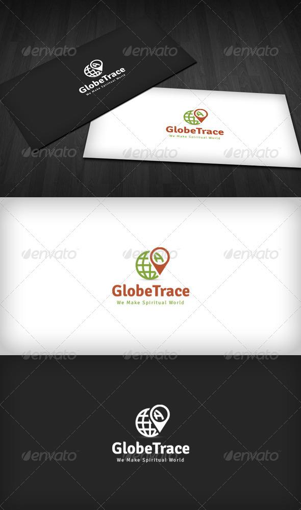 Globe Trace Logo - Symbols Logo Templates