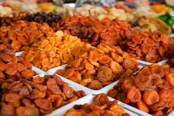 Dried fruits. - Stock Photo - Images