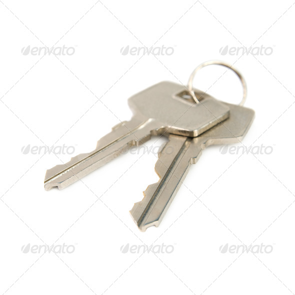 Bunch of keys. - Stock Photo - Images