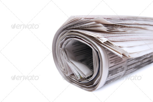 Bunch newspaper. - Stock Photo - Images