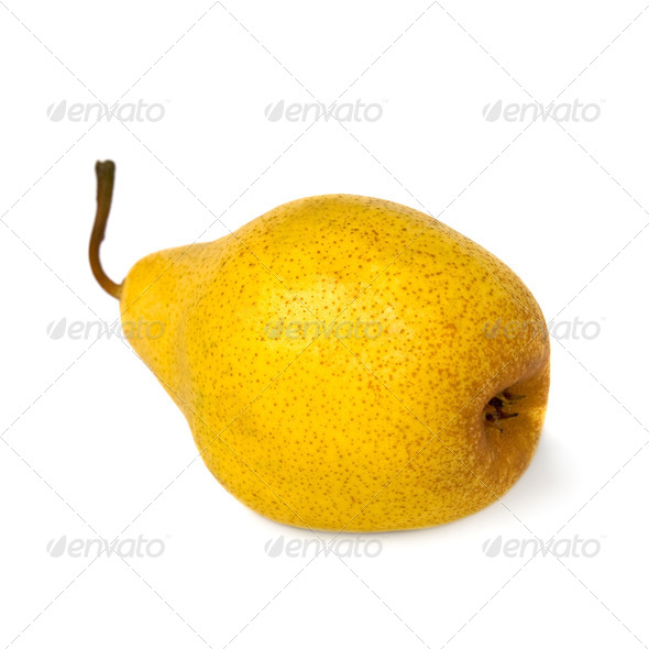 Yellow pear. - Stock Photo - Images