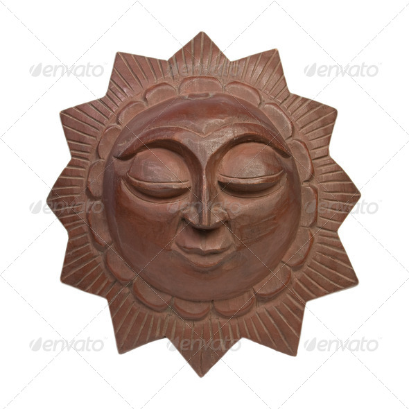 Decorative sun - Stock Photo - Images
