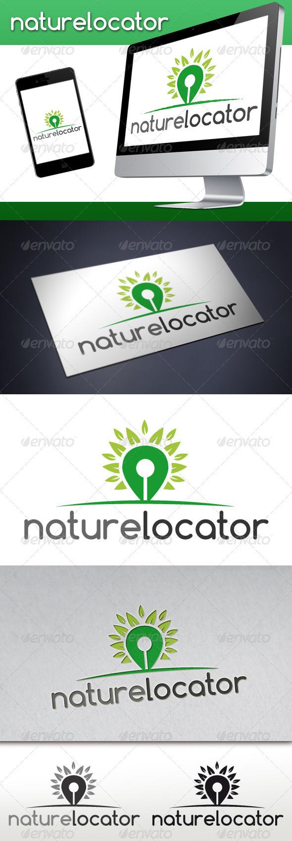 Nature Locator Logo - Nature Logo Templates