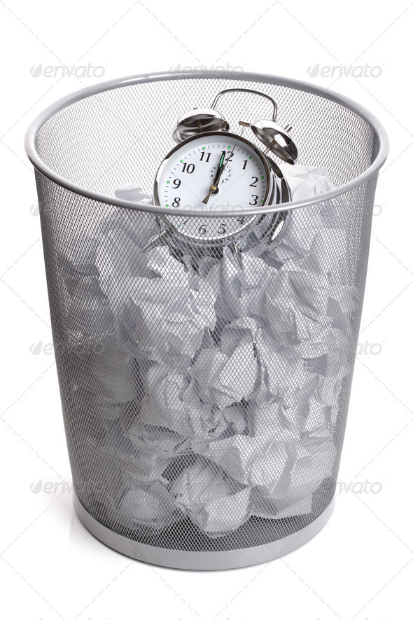 Wasting time - Stock Photo - Images