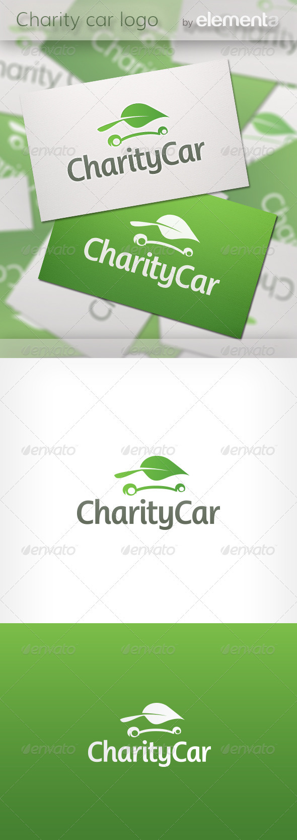 Charity Car Logo - Nature Logo Templates