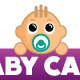 Baby Care Logo - GraphicRiver Item for Sale