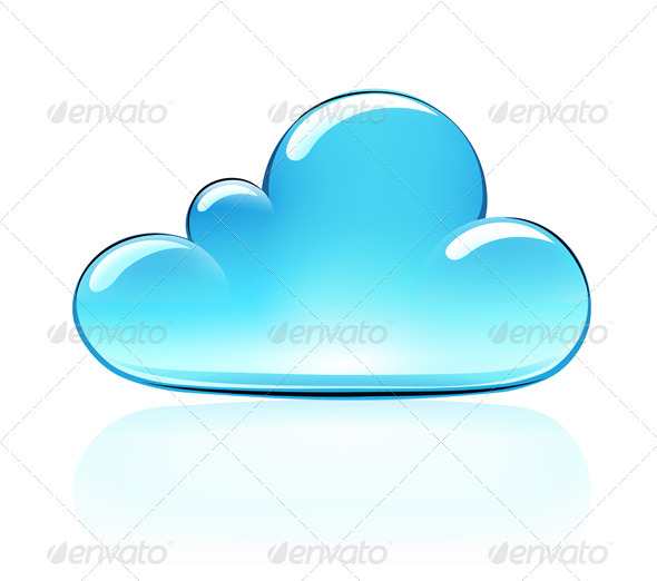 Internet Cloud Icon  - Decorative Symbols Decorative