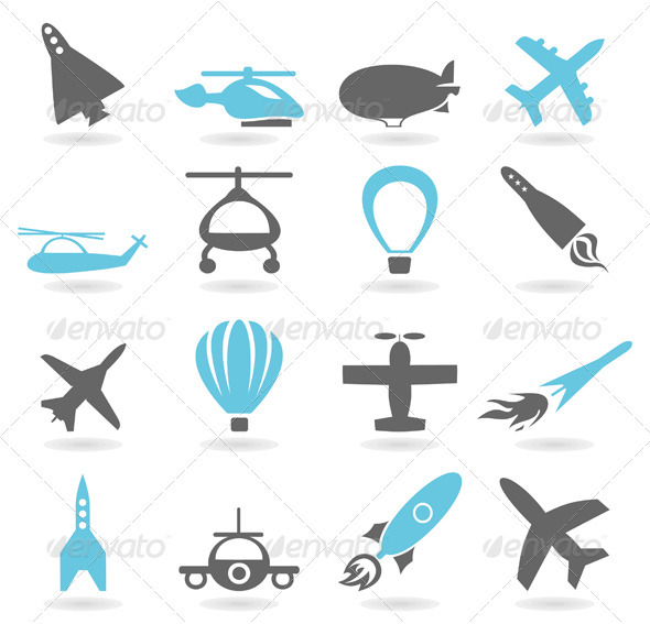 Air Transport - Man-made Objects Objects