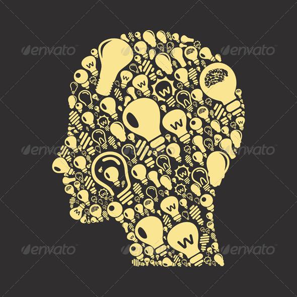 Bulb Head - Miscellaneous Vectors
