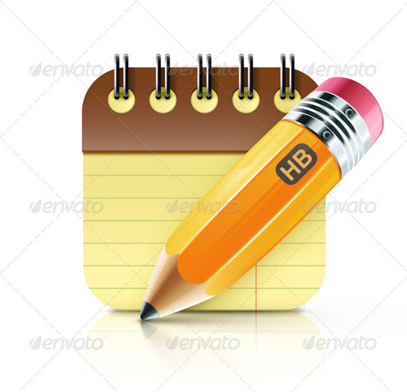 Fat Yellow Pencil  - Business Conceptual