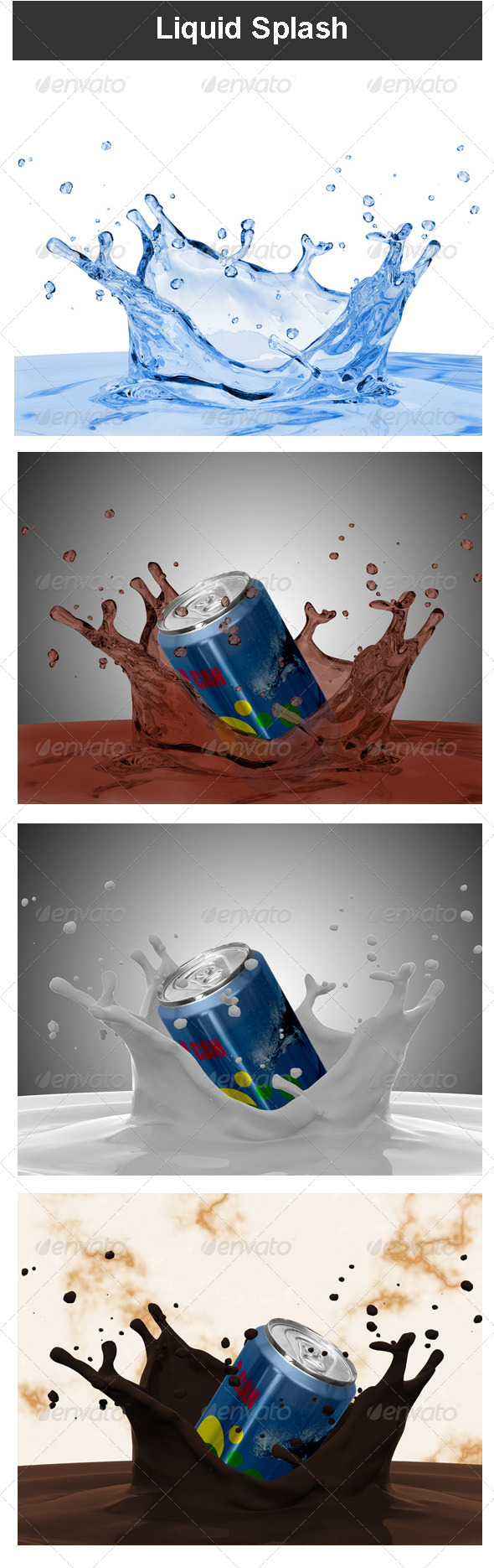 Liquid Splash - Miscellaneous 3D Renders