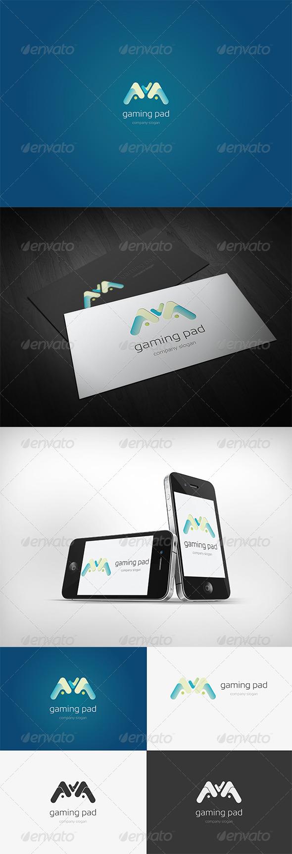 Gaming Pad Logo - Symbols Logo Templates