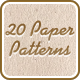 20 Paper Seamless Patterns - GraphicRiver Item for Sale