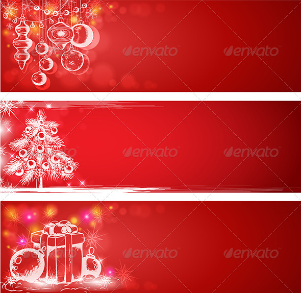 red christmas background christmas seasonsholidays - Red Christmas Background