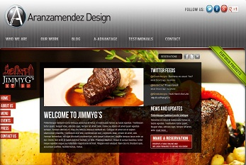 Aranzamendez Design official Website Design