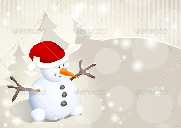Snowman - Christmas Seasons/Holidays