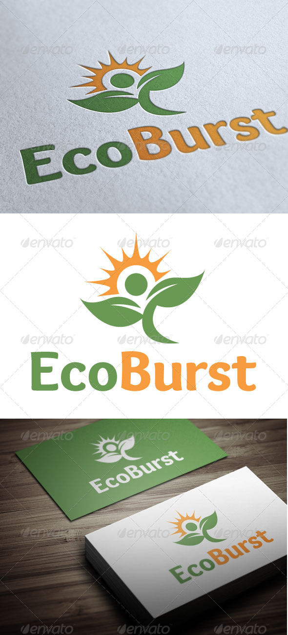 EcoBurst - Nature Logo Templates