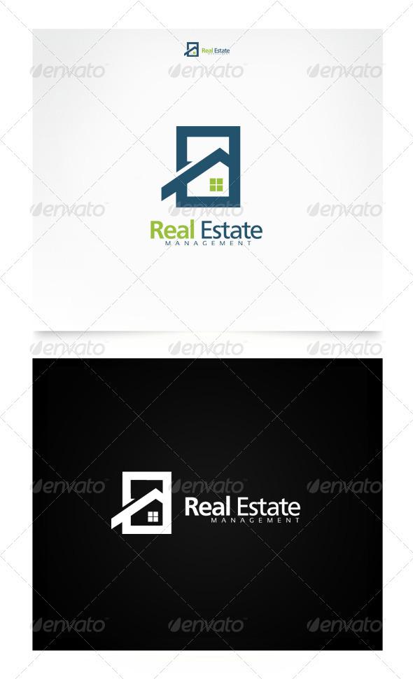 Real Estate Management - Buildings Logo Templates