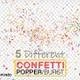Multi Colored Popper Confetti Explosions - VideoHive Item for Sale