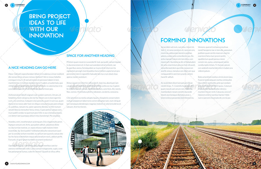 8 page brochure template - brochure template indesign 8 page layout 01 by