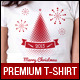 Christmas and New Year Event T-Shirt Template - GraphicRiver Item for Sale