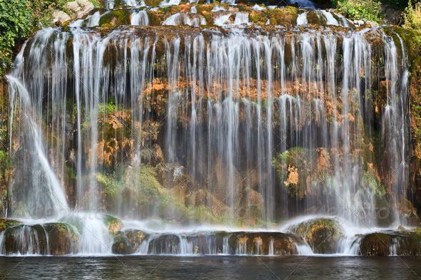 mountain stream - Stock Photo - Images