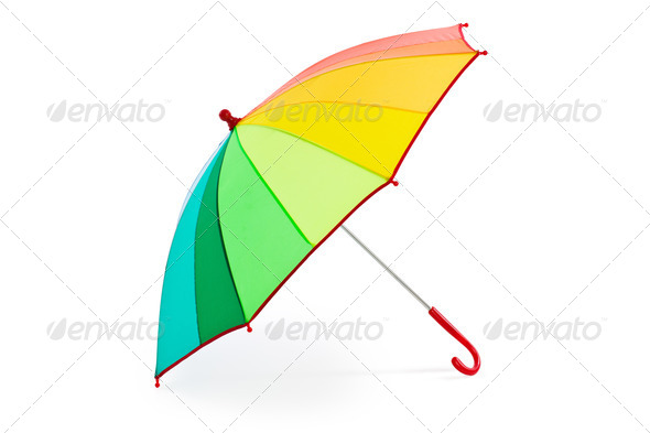 colorful umbrella - Stock Photo - Images