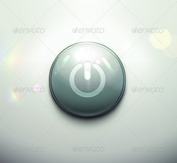 Power Button - Web Elements Vectors