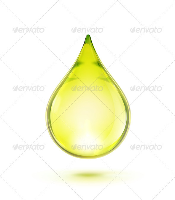 Oil Drop - Health/Medicine Conceptual