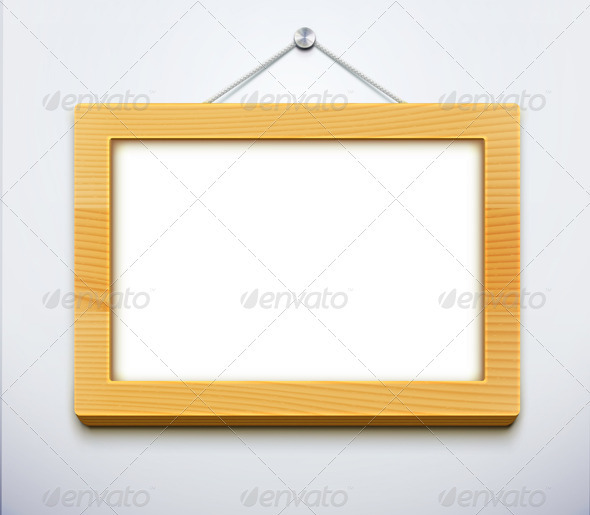 Wooden Frame - Borders Decorative